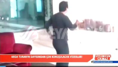 Arda Turan'ın dayısı Nuri Seviş'in olay görüntüleri