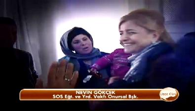 SOS vakfı Türkmen bir ailenin kapısını çaldı (Beyaz TV - Uzat Elini)