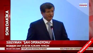 Davutoğlu 14 Mart 2014'te Süleyman Şah'ın Önemini Böyle Anlattı