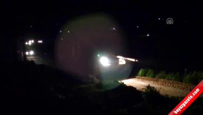 Süleyman Şah Türbesinde tahliye operasyonu (İlk görüntüler)