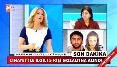 Nuran Dutlu cinayetiyle ilgili 5 kişi gözaltında