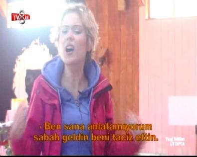 Ütopya'da Aybüke'den Murat'a Sert Çıkış: Beni Taciz Etme!