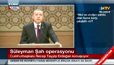 Erdoğan: Genelkurmay'ın attığı tırnak olamazsın