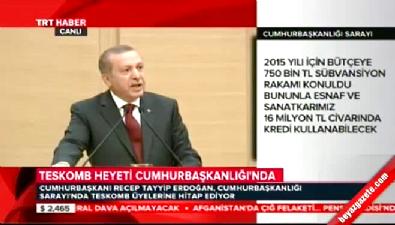 Cumhurbaşkanı Erdoğan'dan Merkez Bankası'na tepki