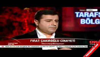 Selahattin Demirtaş: Karanlık el değil, Ak el!