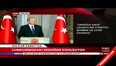 Cumhurbaşkanı Erdoğan'dan Türk tipi başkanlık sistemi açıklamsı