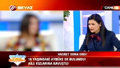16 yaşındaki Aybüke Er Ebru Gediz'le Yeni Baştan'da bulundu