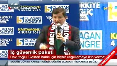 Ahmet Davutoğlu: Kılıçdaroğlu sen provokatör müsün?