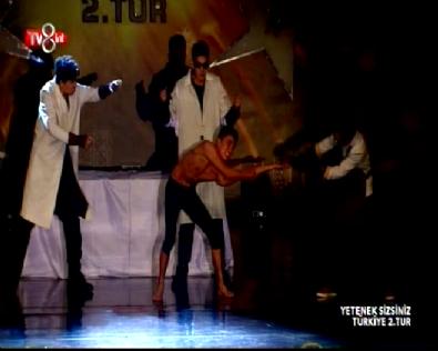 Yetenek Sizsiniz Türkiye Atai Omurzakov ve Tumar Kr 2. Tur Dans performansı