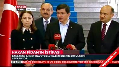 Davutoğlu'ndan Hakan Fidan açıklaması