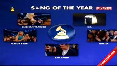 Yılın şarkısı: Stay With Me - Sam Smith (57. Grammy Ödül Töreni)