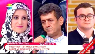 Evleneceksen Gel / Ahmet ile Melek aşkında yüzler güldü