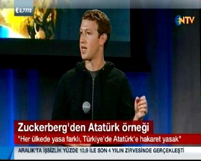 Facebook'tan Atatürk Örneği