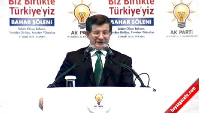 Başbakan Davutoğlu: Gençleri değil silahları gömelim