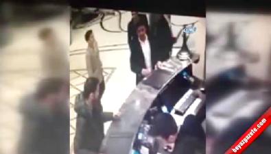 Onur Özbizerdek'in saldırısı kameralara böyle yansıdı
