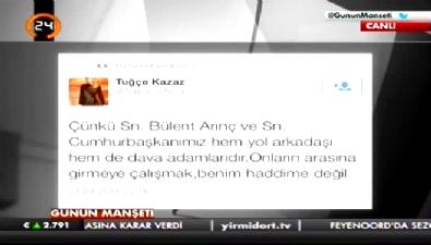 Ersoy Dede, Tuğçe Kazaz'ı ti'ye aldı