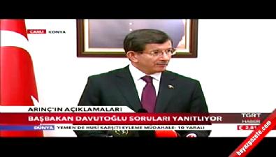Başbakan Davutoğlu Konya'da konuştu...