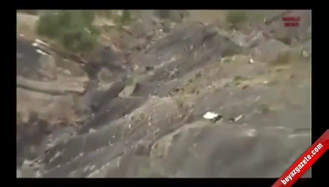 barcelona - Fransa'da yolcu uçağı düştü: 150 ölü