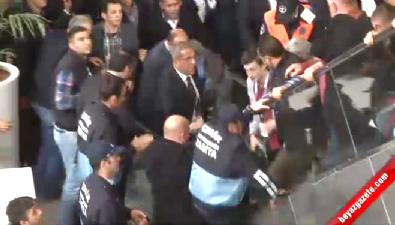 CHP'de bir yürüyen merdiven kazası daha