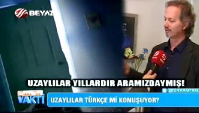 Uzaylılar Türkçe mi konuşuyor? Haktan Akdoğan yorumladı