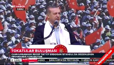 Cumhurbaşkanı Erdoğan: Nereye kaçarsanız kaçın sizi bulacağız
