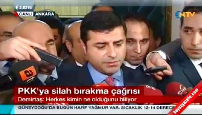 Selahattin Demirtaş'tan Bülent Arınç'a proje cevabı