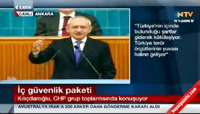 CHP lideri Kılıçdaroğlu, Başbakan Davutoğlu'na 'çapsız' dedi