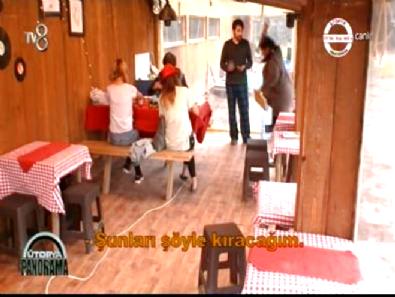 Ütopya'da Türkan Kurretülayn'a Kızdı Bardaklar Havada Uçuştu