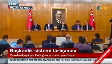 Cumhurbaşkanı Erdoğan, Slovenya ziyareti öncesi konuştu