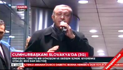 Erdoğan: Mesele ülkeyi bölmek Haberi