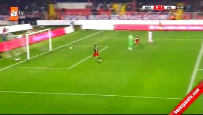 F.Bahçe:2 M.İdman Yurdu:1 Ziraat Türkiye Kupası Maçın golleri