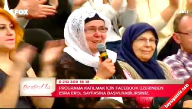 Esra Erol'la - Funda'nın annesi Kerem'i Esra Erol'dan istedi