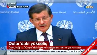 Başbakan Davutoğlu'ndan dolar açıklaması