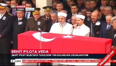 Şehit Pilot Mustafa Tanış için Kocatepe Camii'nde cenaze töreni düzenlendi Haberi