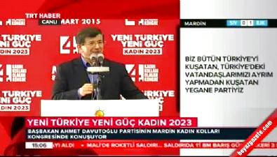 Başbakan Davutoğlu: Vicdan yoksunu Kılıçdaroğlu var ya...