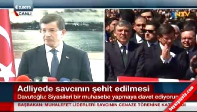 Başbakan Davutoğlu'ndan kritik çıkış