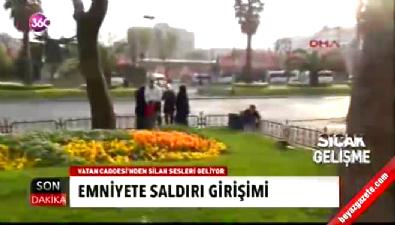 İstanbul Emniyet Müdürlüğü'ne saldırı