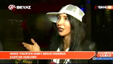 Hande Yener'den Demet Akalın'a: Kıvırmıyorsa kime söylediğini açıklasın