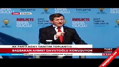 Ahmet Davutoğlu: Kılıçdaroğlu'na millet demeyi öğrettik