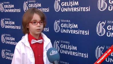 Minik yıldız Ataberk Mutlu büyüyünce doktor olacak