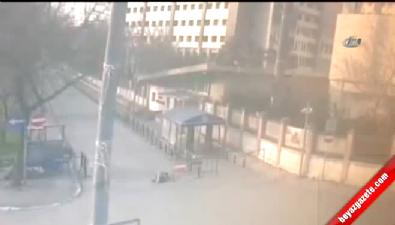 Elif Sultan Kalsen'in vurulma anları kamerada