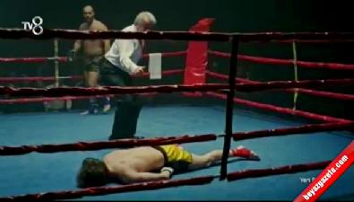 Maral'da nefes kesen kick box sahnesi