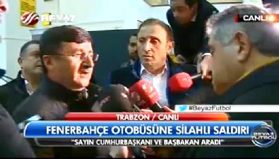 fenerbahce - Trabzon Valisi'nden ilk açıklama!