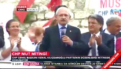 Kemal Kılıçdaroğlu'ndan bomba gaf: Bu ülkede namussuz siyaset eksik