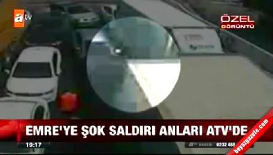 fenerbahce - Emre Belözoğlu'na yapılan saldırının yeni görüntüleri