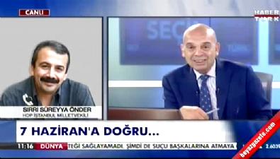 Canlı yayında şok - Sırrı Süreyya'dan Bülent Gedikli'ye: 'Konuşma lan konuşma'
