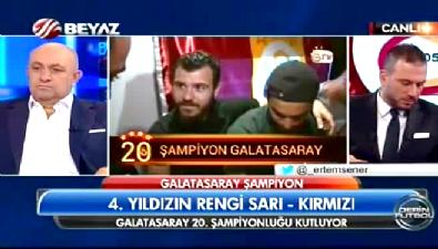 fenerbahce - Galatasaray şampiyon oldu, sarı kırmızılı futbolcular çıldırdı