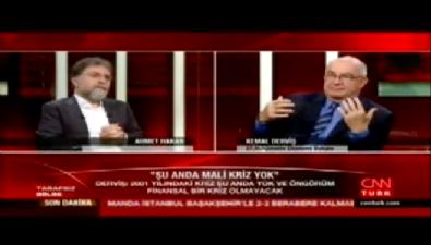 Kemal Derviş: Türkiye'de ekonomik kriz yok
