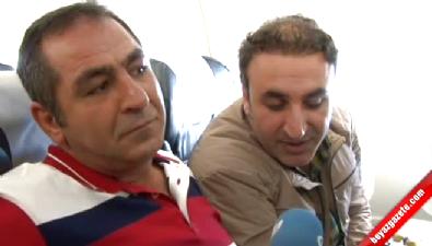 Hakkari'ye ilk uçak seferinde halay çekildi