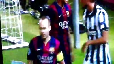 barcelona - Cüneyt Çakır Neymar'ın golünü iptal etti